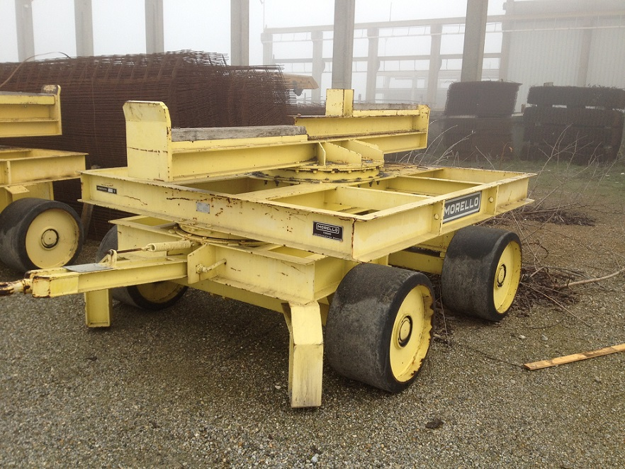 TRANSFER CART 35 TON MORELLO